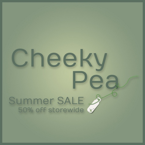 Cheeky Pea Sale